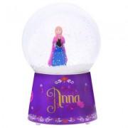 Boule À Neige Musicale En Verre : Anna, La Reine Des Neiges (Frozen)