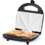 Kent Sandwich Toaster Model No. - 16024 Toast(Silver-Black)