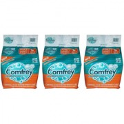 COMFREY PANT STYLE ADULT DIAPER PANTS LARGE ( 10 Pcs. PACK ) SET OF 3 PACKS FOR WAIST SIZE 30-39 INCHES.