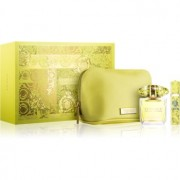 Versace Yellow Diamond coffret XII. bolsinha 1 + Eau de Toilette 90 ml + Eau de Toilette 10 ml