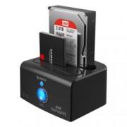 """Докинг станция Orico 8628SUS3-C, за 2.5"""" & 3.5"""" харддискове, eSATA/USB3.0, черна"""