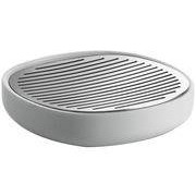 Alessi Porte-savon Birillo - Alessi blanc,acier en métal