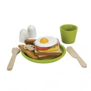 Plan Toys Activity Breakfast Menu Playset