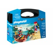 Set portabil Prinderea piratului - Playmobil