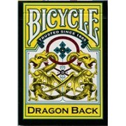 Carti de joc Bicycle Dragon Yellow