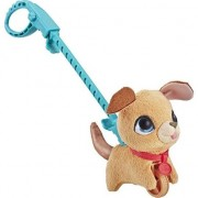 Jucarie de plus interactiva Furreal Friends - Mini Walkalots cu lesa, catelus maro