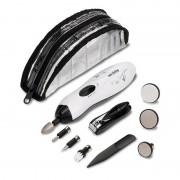 Set complet manichiura si pedichiura Innofit INN-031, 9 accesorii
