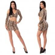 V&V Komplet topu se sukní Snake Girl (S) - V&V
