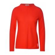 cecil Shirt met Ottomaanse structuur (Oranje)