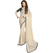 Indian Style KAJAL AGRAWAL Sarees New Arrivals Latest Women's Georgette Embroidery Saree For Women 01014
