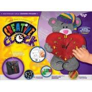 Набор для творчества Часы Creative clock Мишка СС-01-03