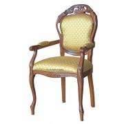 Klassischer Stuhl mit Schnitzarbeit