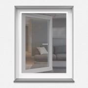 Jarolift Mosquitera con Marco Fijo, Producto Terminado, Blanco, 130x150 cm