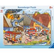 PUZZLE POMPIERI, 14 PIESE - RAVENSBURGER (RVSPC06092)