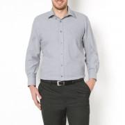 La Redoute Collections Plus Camisa direita de mangas compridas, altura 3cinza-claro- 3XL (47/48)