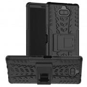 Capa Híbrida Antiderrapante para Sony Xperia 10 Plus - Preto