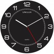 Orologio da parete al quarzo UNILUX Mega 57,5 cm nero - Z13552