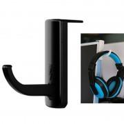 universeel hoofdtelefoon Hanger PC Monitor Desk Headset Stand houder haak (zwart)