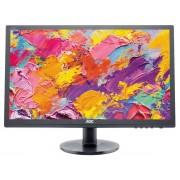 """AOC Value e2460Sh - Monitor LED - 24"""" (24"""" visível) - 1920 x 1080 Full HD (1080p) - TN - 250 cd/m² - 1000:1 - 1 ms - HDMI, DVI-"""