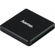 Четец за карти HAMA Multi, USB 3.0, SD/microSD/CF, 5 Gbps, Черен