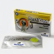 Pestigon S - 4 pipete (caini 2-10 Kg)