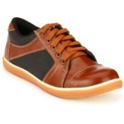 Kavacha Steel Toe Safety Shoe, S17 For Men(Tan, Black)