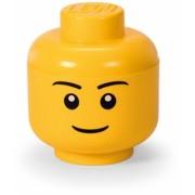 Cutie depozitare S cap minifigurina LEGO baiat (40311724)