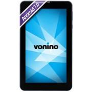 "Tableta Vonino Pluri B7, Procesor Quad-Core 1.3GHz, IPS Capacitive touchscreen 7"", 1GB RAM, 16GB Flash, 3.2MP, Wi-Fi, 3G, Android (Albastru inchis) + Cartela SIM Orange PrePay, 6 euro credit, 4 GB internet 4G, 2,000 minute nationale si internationale fix"