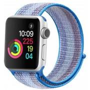 Wotchi Provlékací sportovní řemínek pro Apple Watch - Světle modrá 42/44 mm
