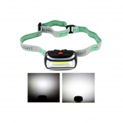 Impermeable De La Pesca LED Mini COB Faro Camping Riding Rotar 3 Modos