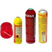"""Butelie gaz ROTHENBERGER unica folosinta MAPP-Gas, 7/16""""-EU, recipient otel Vers. C"""