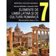 Elemente de limba latina si de cultura romanica autor Marcela Gratianu