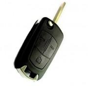 Carcasa cheie briceag Opel, 3 butoane