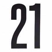 Merkloos Cijfers / nummers stickers 21