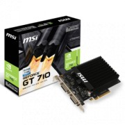 MSI nVidia GeForce GT 710 2GB GDDR3 64bit - GT 710 2GD3H H2D