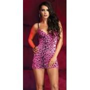 Mini abito Pink Leopard by Leg Avenue