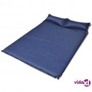 vidaXL Madrac za spavanje samonapuhujući plavi 190 x 130 x 5 cm (za 2 osobe)
