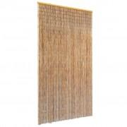 vidaXL Perdea de ușă pentru insecte, bambus, 100x220 cm