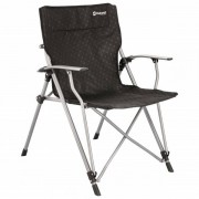 Outwell - Goya Chair - Chaise de camping taille 68 x 63 x 90 cm, noir/gris