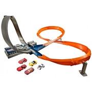 Hot Wheels Figure 8 Raceway Track Set, Multi Color