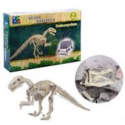 Inditake Learning Kit for Children Creative Dinosaur Archaeology Excavation Toys Dinosaurs Educational Activity Kit for Kids
