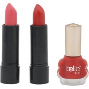 SET OF TWO LIPSTICKS AND 1 NAIL PAINT