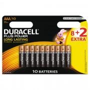 Duracell Plus Power AAA 8+2pk