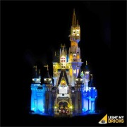 LIGHT MY BRICKS Kit for 71040 Disney Castle