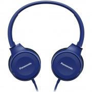 HEADPHONES, Panasonic RP-HF100ME-A, Microphone, Blue