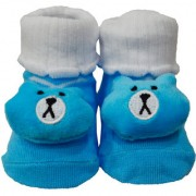 toys Factory Teddy Style Printed Cartoon Baby Booty Booties New Born Shoes Socks (1 Pair)