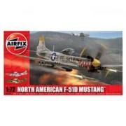 Kit Aeromodele Airfix 02047 Avion North American F-51D Mustang Scara 1:72