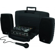 Behringer EUROPORT PPA200 - 200W 5-Channel Portable PA System with Wireless Option