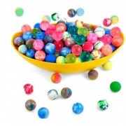 Gold Leaf Crazy Bouncy Jumping Balls Set - Smart Buy (36 Small Crazy Ball)- Multicolor