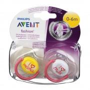 Bomedys Avent Tétine Fashion Double 0-6m 2 pc(s) 8710103658788